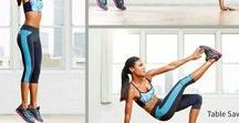 Workout, exercises and challenges