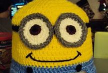 Crochet Minions / This board contains ideas for crocheting, loom knitting and crafting projects for Minions.