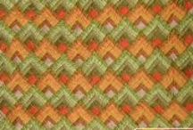 J & K Quilt / Colours, patterns and embellishment!
