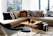LIVING ROOMS I LOVE / Estas salas me parecen fabulosas. La decoración inspira.