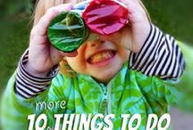Toddler activities / by krystle gaines