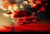 CIELO MARAVILLOSO / El espectáculo que nos brinda el cielo es maravilloso.