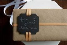 Inspiration +  Ideas / Creative ideas for giftwrapping