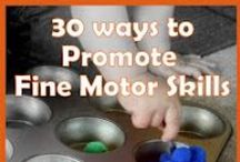 Fine Motor Tools and Ideas / Ideas to help your child with Fine Motor skills