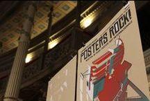 Posters Rock! reportage / Il reportage della mostra Posters Rock! alla Casa dell'Architettura.http://www.creazina.it/eventi/posters-rock-2013-casa-dellarchitettura Foto di Roberta Solitari