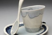 Cups & Mugs / For coffee, tea or hot chocolate ...... for a break, for breakfast or for an afternoon in perfect English style .... original, unusual, traditional cups and mugs