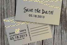 Faire part mariage ° Wedding Invitations