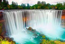 CASCADAS WATERFALLS / la belleza de las cascadas es como salida de un cuento de hadas.