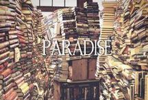 "Bibliophilia / ""I have always imagined that Paradise will be a kind of library."" ― Jorge Luis Borges"