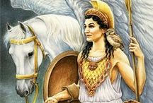 Athena | Minerva / She is the Greco-Roman Goddess of Wisdom and Strategy and I am Her Priestess.
