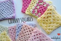 Granny Squares Crochet Projects / Crochet granny squares, projects for granny squares