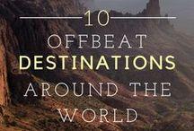 Adventure Travel / Travel Inspiration for the Adventurer