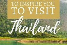 Thailand Travel / Southeast Asia Travel with Thailand Travel Inspiration and Tips