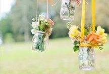 Wedding Picnic / Inspiration for a relaxed, picnic wedding reception.