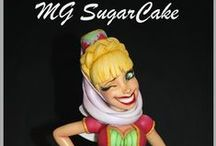 Cake topper MG SugarCake
