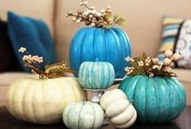 Halloween in...ceramic / Zucche e zuccotte colorate ed originali, idee per decorare  e tanta fantasia
