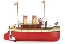 old toys - ships etc.
