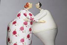 KISS  art & ceramic / Una bacheca dedicata al World Kiss Day, la Giornata Mondiale del Bacio, festa nata in Gran Bretagna il 6 Luglio 1990