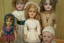 Antique dolls / I have been collecting dolls all my life. I love all kinds. Antique, Vintage and Modern. I own about 100 dolls or so..probably more but whose counting! Jumeau and Kestner are my two favorite Antique doll makers. I have several other doll boards check them out! / by Tina
