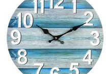 Wall Clocks / We hope you are inspired by our range of clocks.  Great selection of wood, metal, rustic, industrial clocks suitable for Indoors or outside underneath a covered patio area.