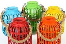 Outdoor Garden Lanterns / Beautiful stylish range of outdoor lanterns for gardens, patios, decks, entertaining areas and outdoor living.