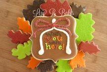 Autumn & Pumpkin / orange is my favourite colour!  cakes & cookies & ideas