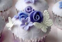 Flowers & Butterflies / cakes, cupcakes, cookies ideas & tutorials
