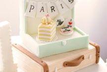 Paris / cakes, cookies & more ideas
