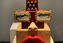 Arts / cakes inspired by art deco, retro, modern, deco decadence, Dali, Karen Portaleo...