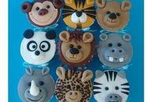 Animals / cakes, cupcakes, cookies ideas & tutorials