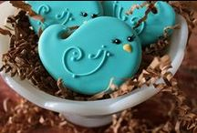 Birds & Cages / cakes, cupcakes, cookies ideas & tutorials