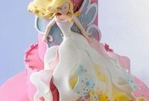 Fairies / cakes, cupcakes, cookies & toppers ideas