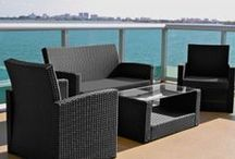 Cabo Outdoor Furniture Collection / Indulge in Cabo's new age look that features a sleek design that brings sophistication and elegance to any outside decor.