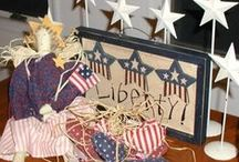 Patriotic Parties Decor, Food and Tablescapes / Ideas for celebrating our nation's independence and  honoring those who have served our country throughout the years