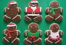 Gingerbread / everything made with gingerbread cookies!!