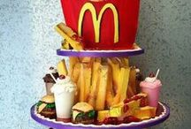 Food & Drink Cakes / cakes inpired by foods