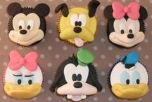 Mickey & Friends / cakes, cookies & toppers ideas