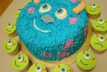 Monsters Inc. / cakes, cupcakes & cookies ideas