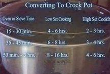 Crockpot Recipes / slow cooker recipes