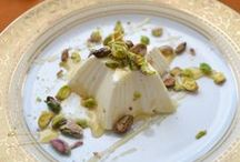 Ice Cream  Pannacotta  Youghrt Desserts  Creams / recipes & serving ideas