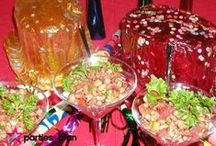 Polish Your Party Presentation / Ideas for ways to jazz up your party presentations -- favors, food, decorations and more