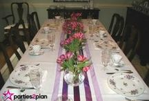 Easter Decor, Food and Tablescapes / Ideas for Easter tabletop decorations and parties as well as fun foods for the special day