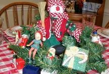 Christmas Celebrations / Ideas for fun ways to celebrate and to decorate your home and the table for your holiday gatherings