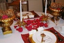 Valentine's Day Decor, Food and Tablescapes / Find ideas for ways to decorate your home and table and to celebrate Valentine's Day