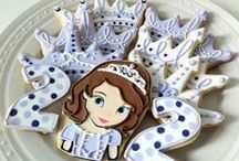 Sofia the 1st / cakes & cookies ideas