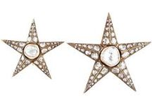 Starry-Eyed...Styles We're Feelin' at Craig Evan Small / The star motif had been popular in jewelry since the 1860s and we just can't get enough of stars and starbursts!