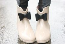 By rain my favorites: rubber boots! ☂☂☂☂