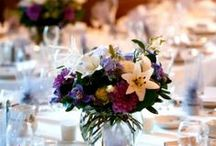 Wedding Centerpieces / Look here for ideas for easy and creative centerpieces for your wedding
