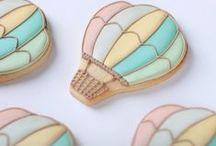 Hot Air Balloon / cakes & cookies ideas