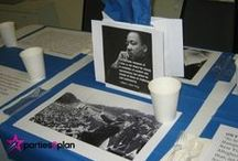 Martin Luther King Day Activities and Decor / Find crafts, decorations and activities to use on MLK Day with all ages